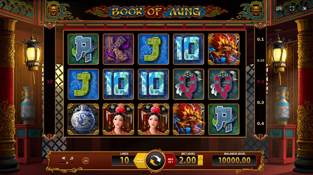 Слот Book of Ming играть