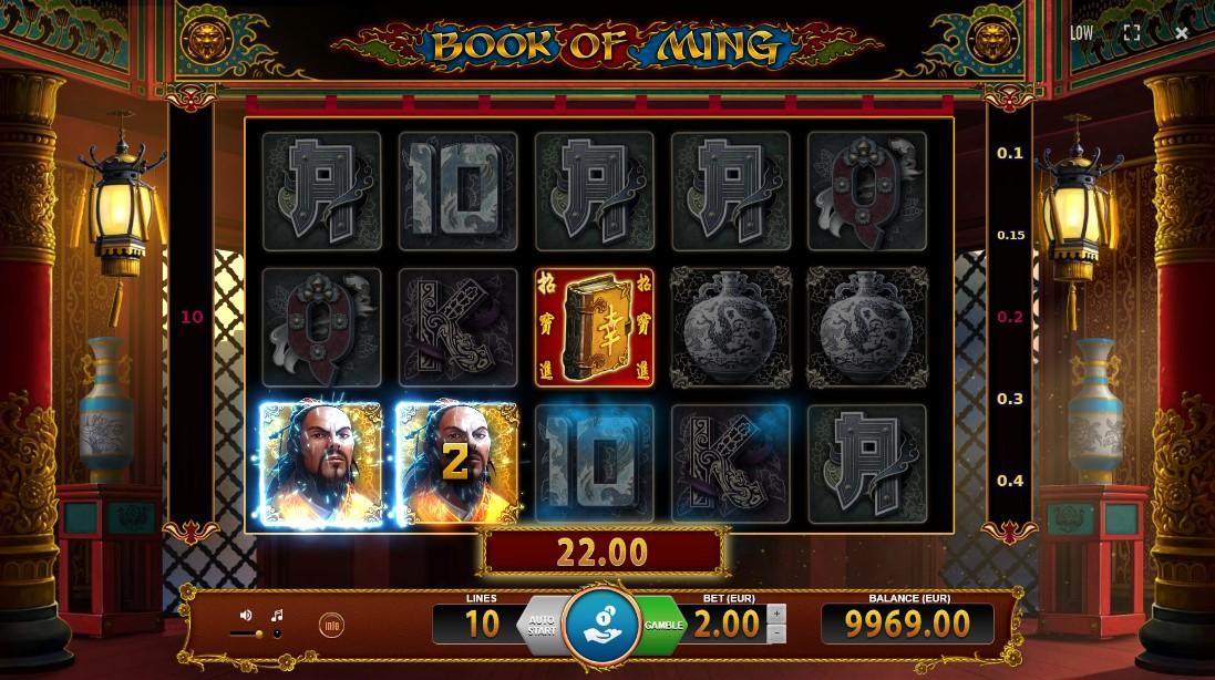 Игровой автомат Book of Ming