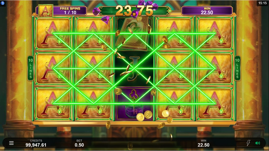 Игровой автомат Book of Oz Lock 'N Spin