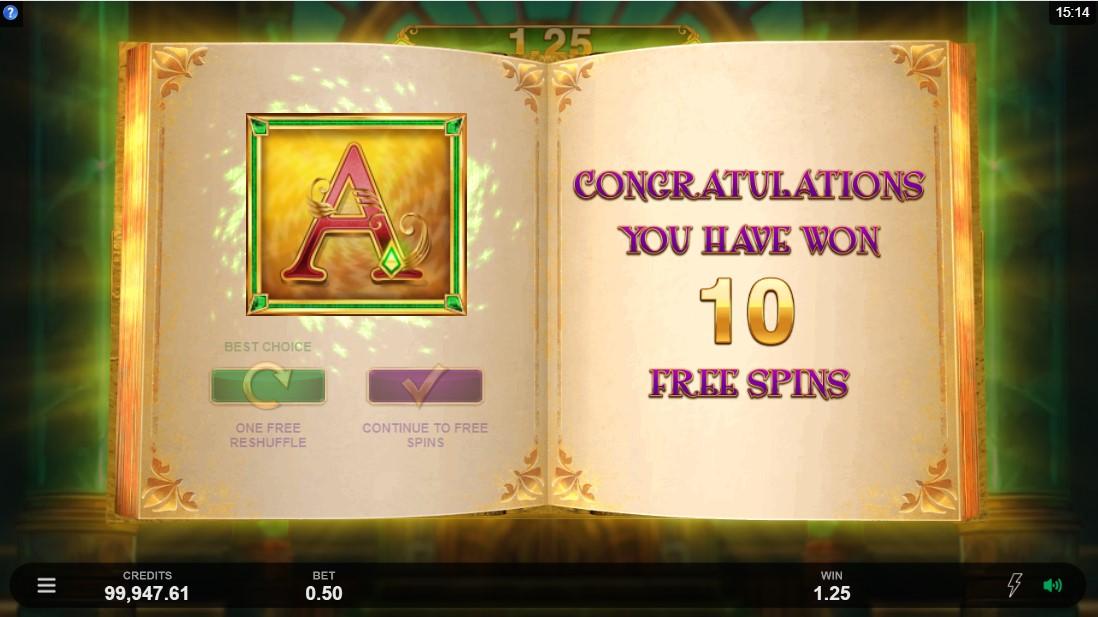 Играть бесплатно Book of Oz Lock 'N Spin