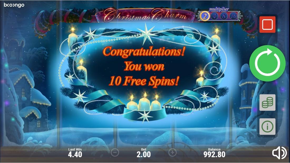 Онлайн слот Christmas Charm