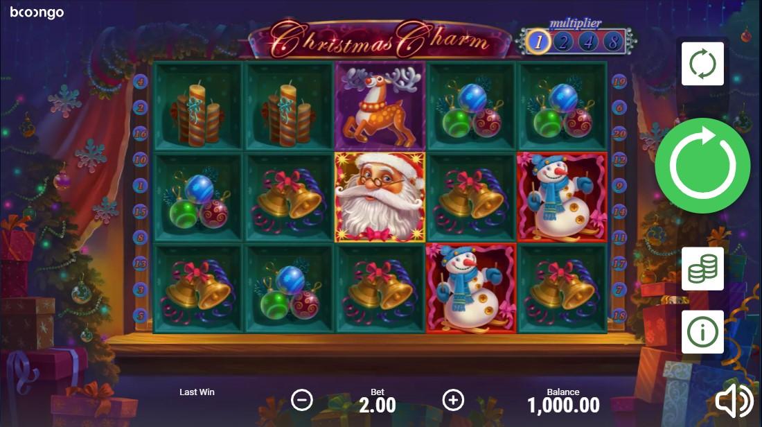 Слот Christmas Charm играть