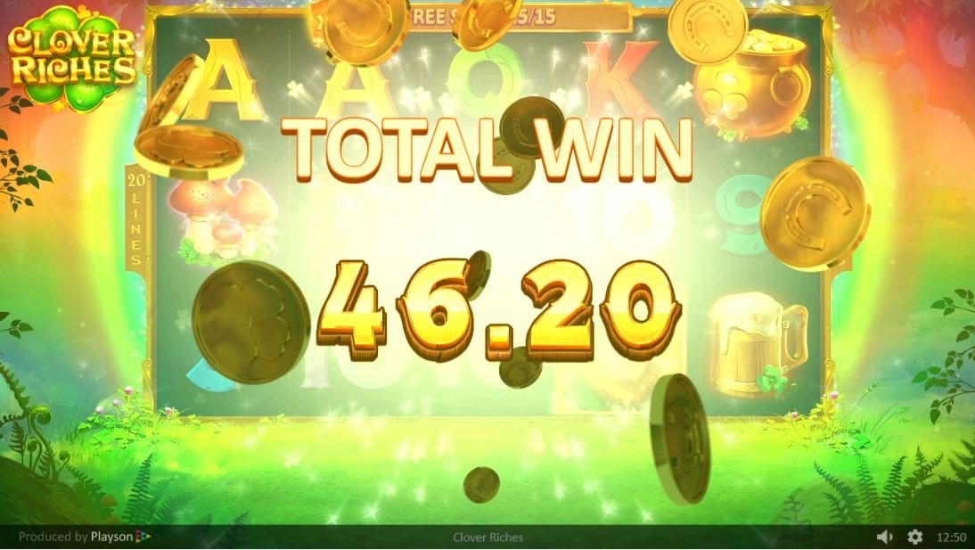 Бесплатный игровой автомат Clover Riches
