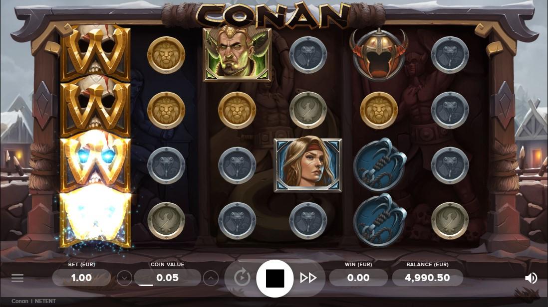 Слот Conan играть
