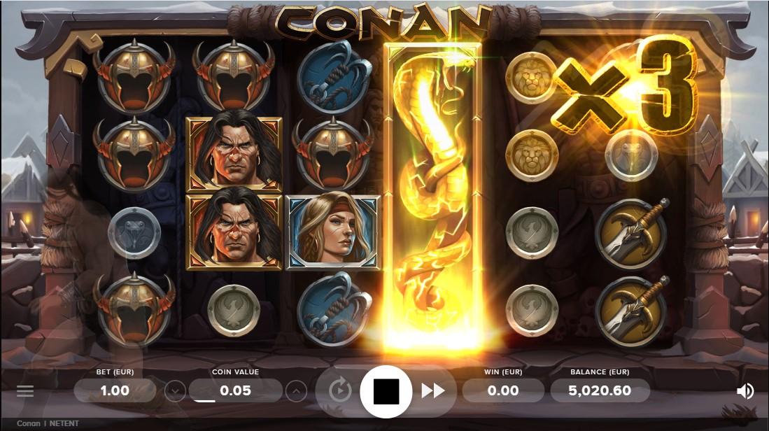 Conan игровой автомат