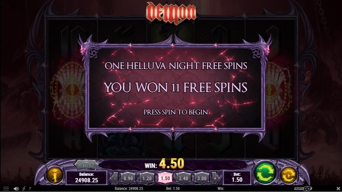 Онлайн слот Demon