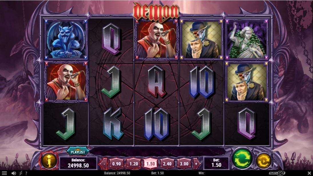 Слот Demon играть