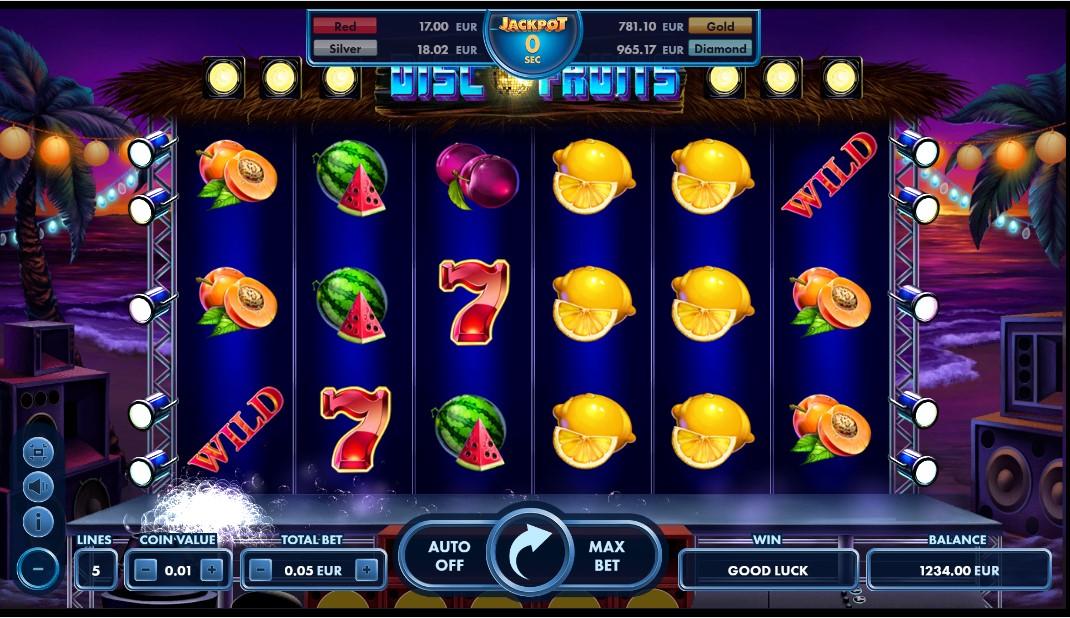 Disco Fruits онлайн слот