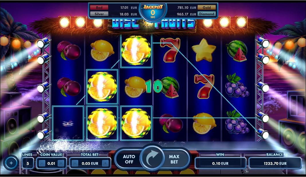 Игровой автомат Disco Fruits
