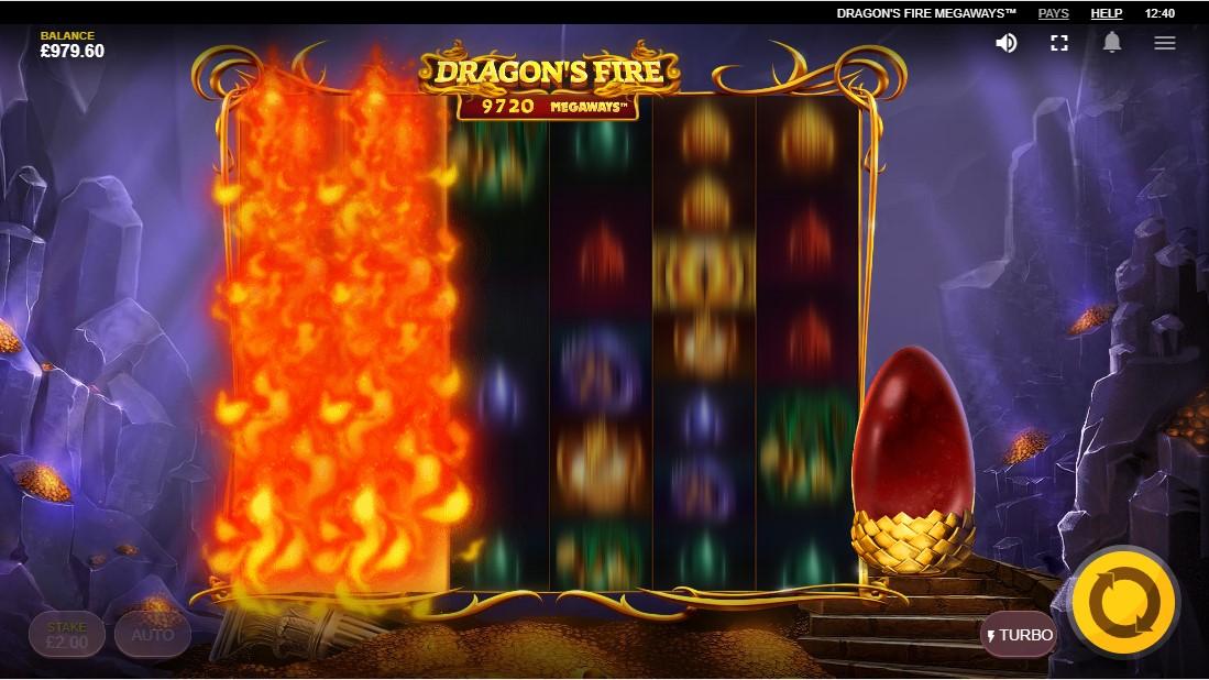 Бесплатный игровой автомат Dragon's Fire MegaWays