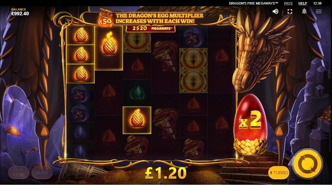 Слот Dragon's Fire MegaWays играть