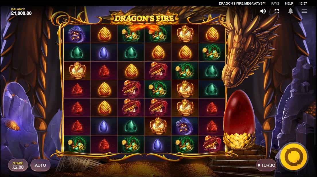Dragon's Fire MegaWays играть бесплатно