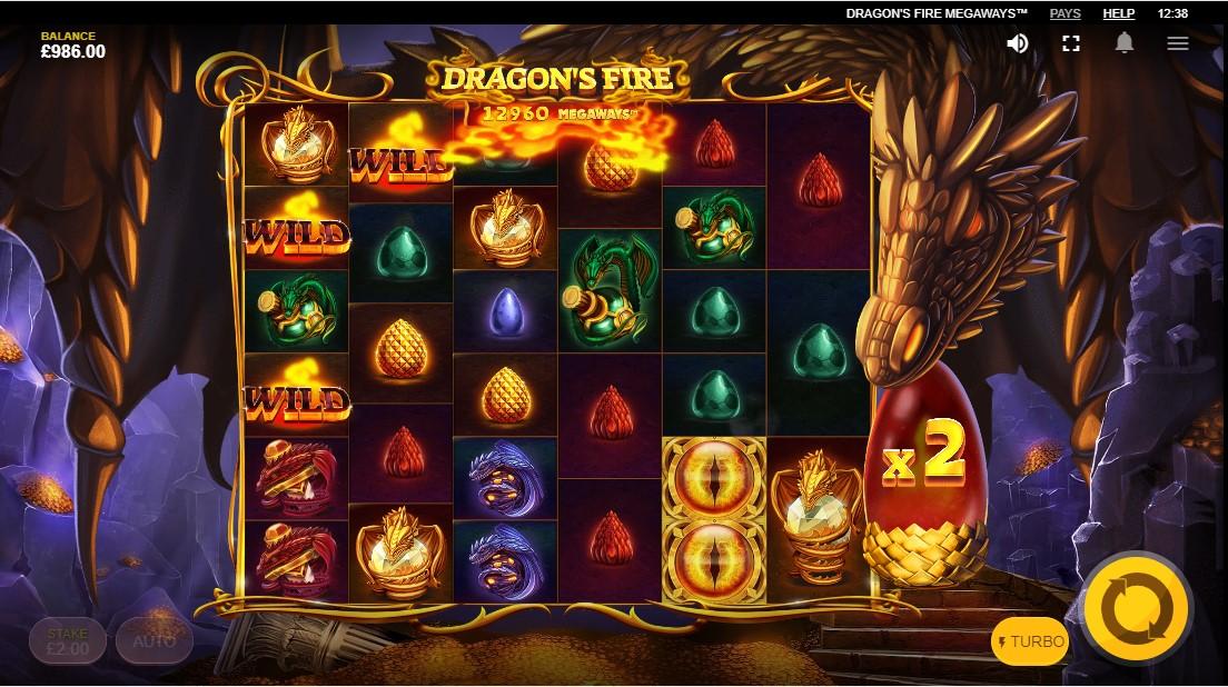 Игровой автомат Dragon's Fire MegaWays