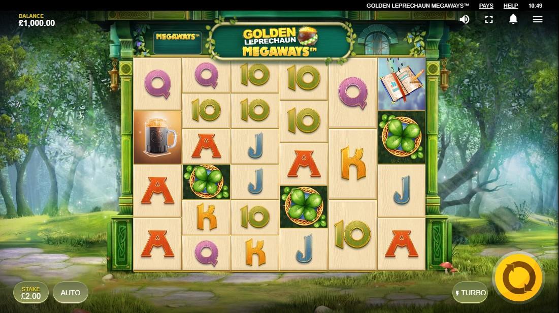 Играть бесплатно Golden Leprechaun Megaways