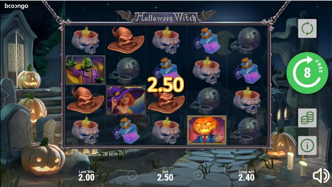 Игровой автомат Halloween Witch