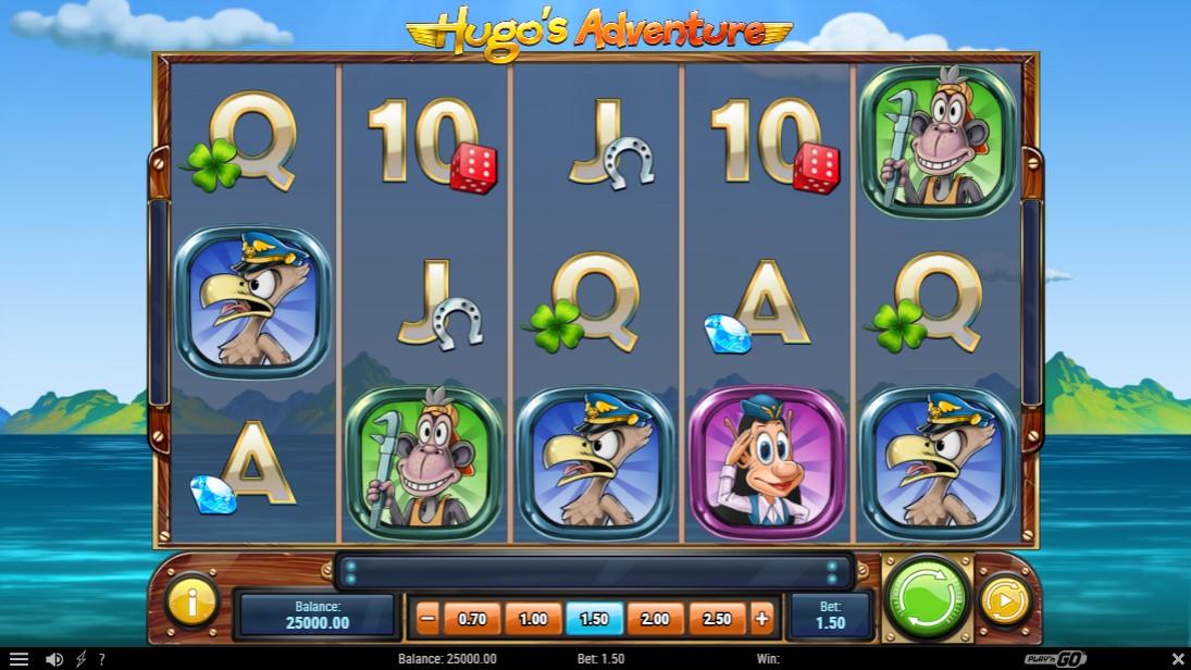 Hugo's Adventure играть бесплатно