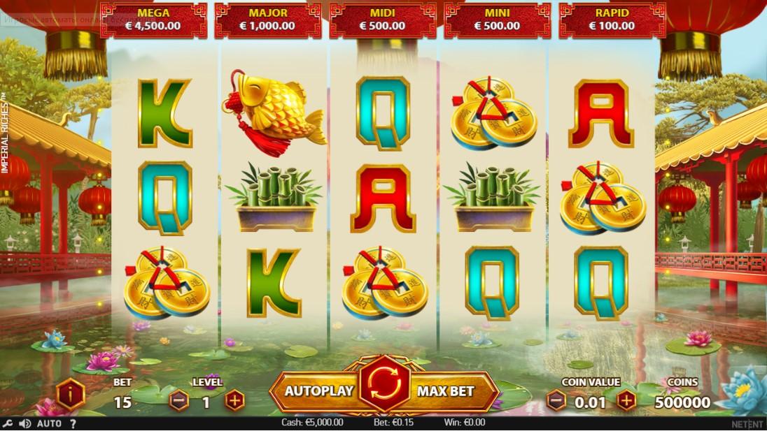 Бесплатный игровой автомат Imperial Riches