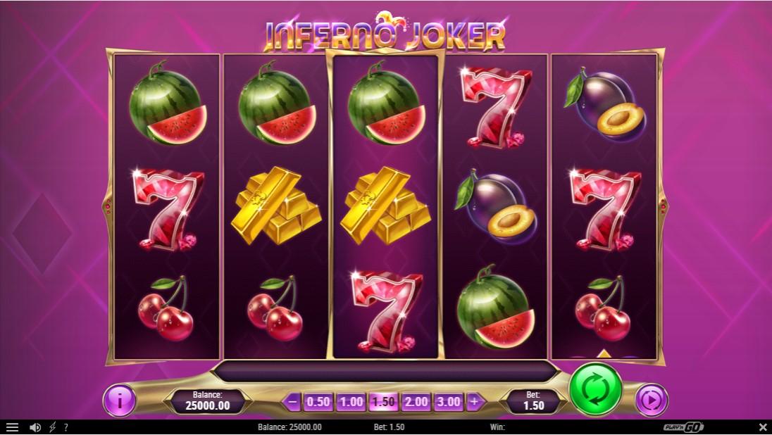 Онлайн слот Inferno Joker