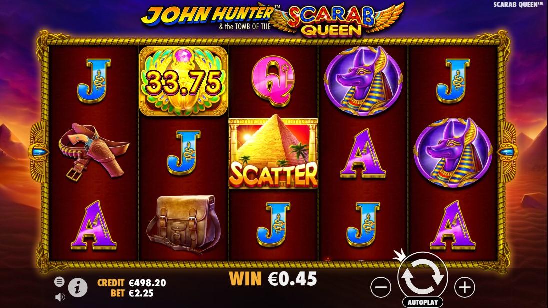 John Hunter игровой автомат