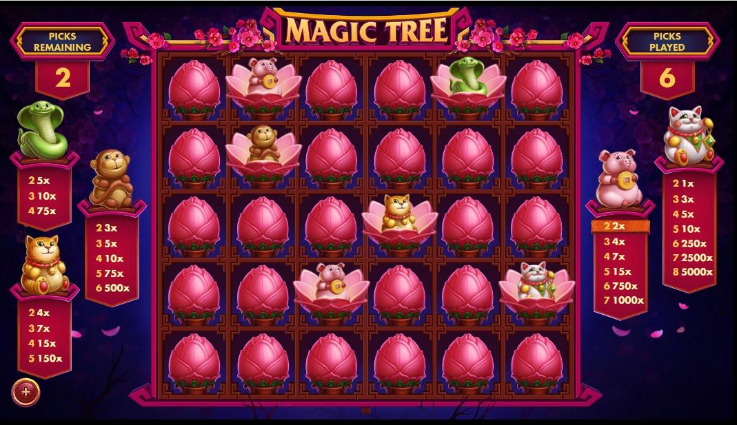 Играть без регистрации Magic Tree