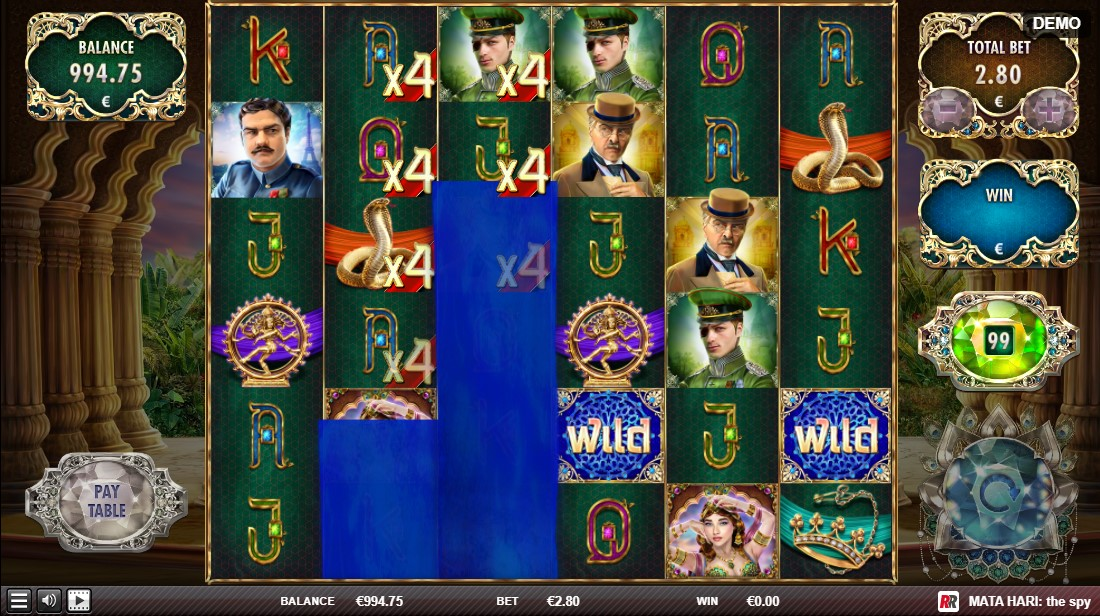 Бесплатный слот Mata Hari The Spy