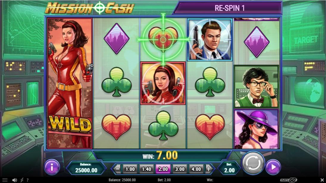 Mission Cash играть бесплатно