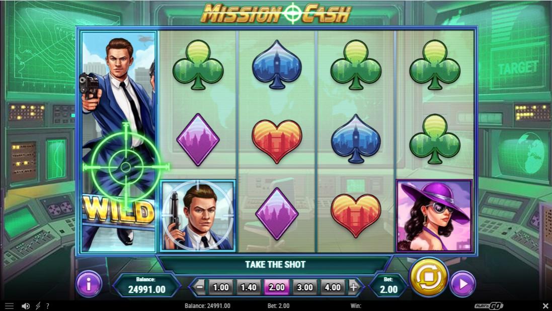 Слот Mission Cash играть