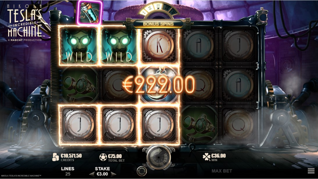 Nikola Tesla's Incredible Machine бесплатный игровой автомат