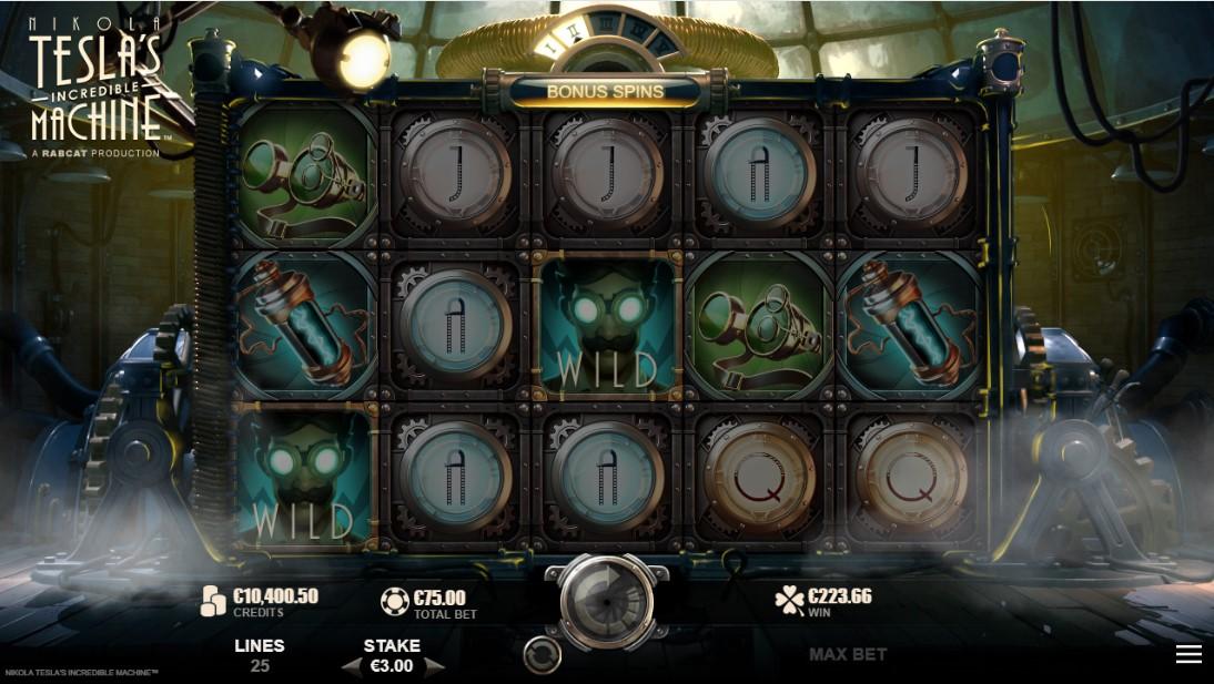 Nikola Tesla's Incredible Machine играть бесплатно