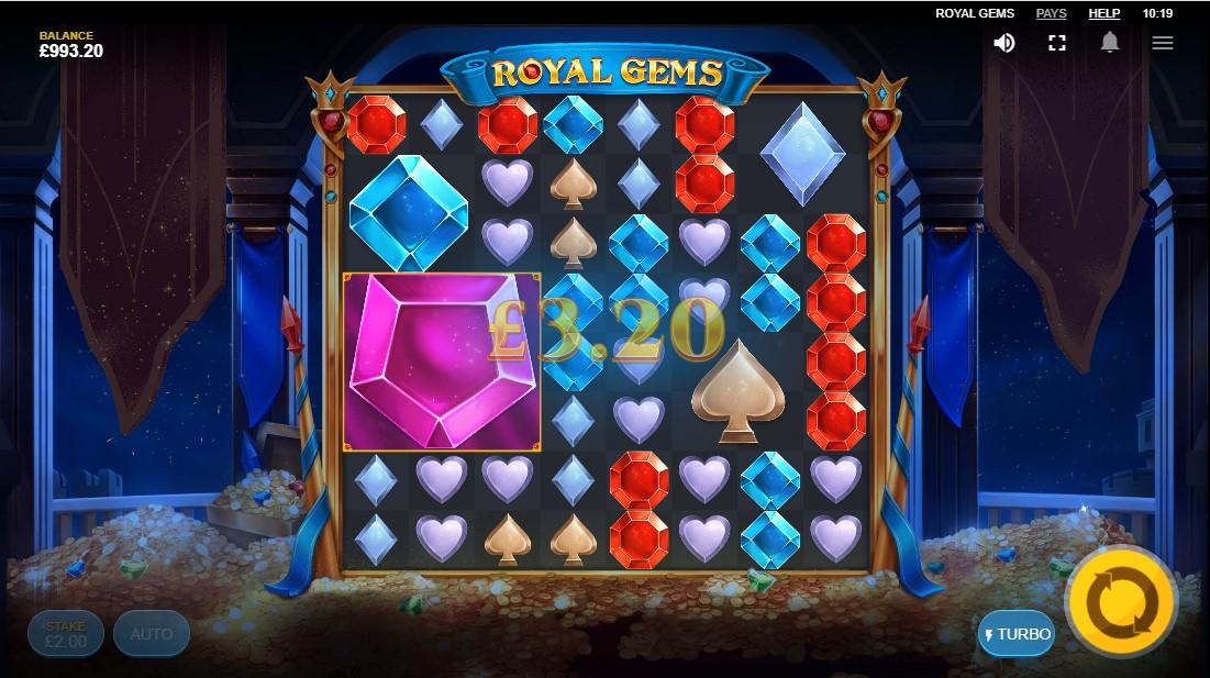 Онлайн слот Royal Gems