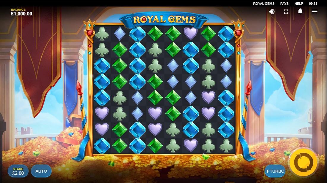 Играть бесплатно Royal Gems