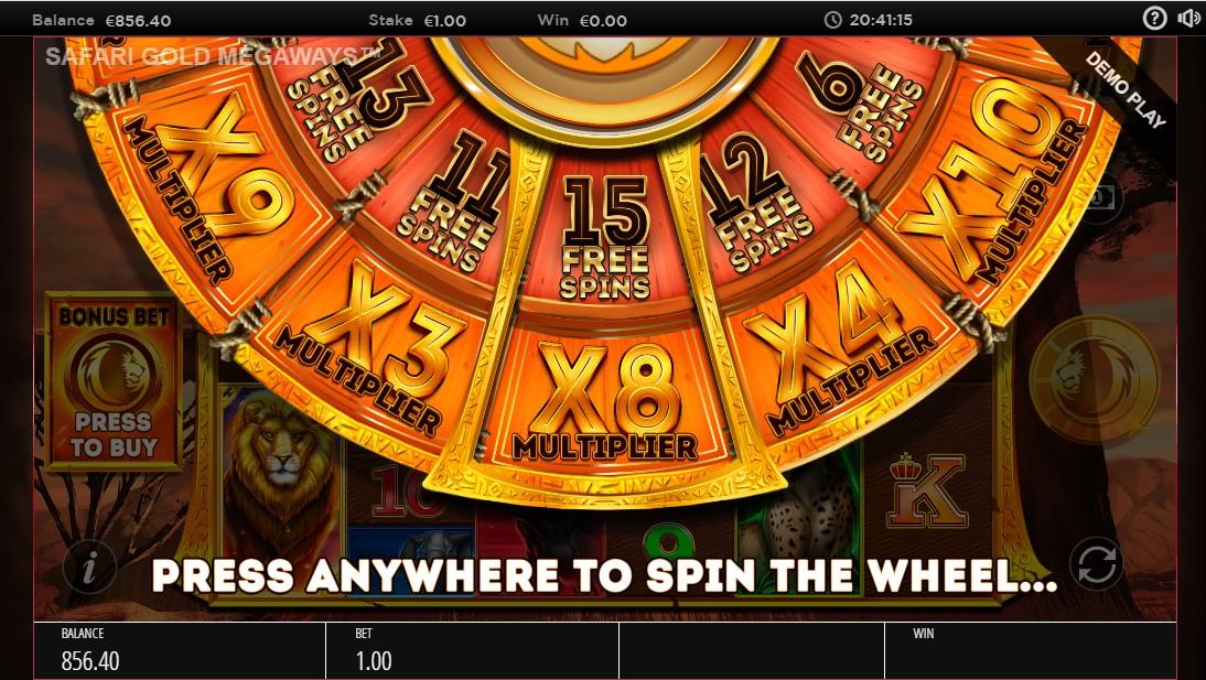 Игровой автомат Safari Gold Megaways