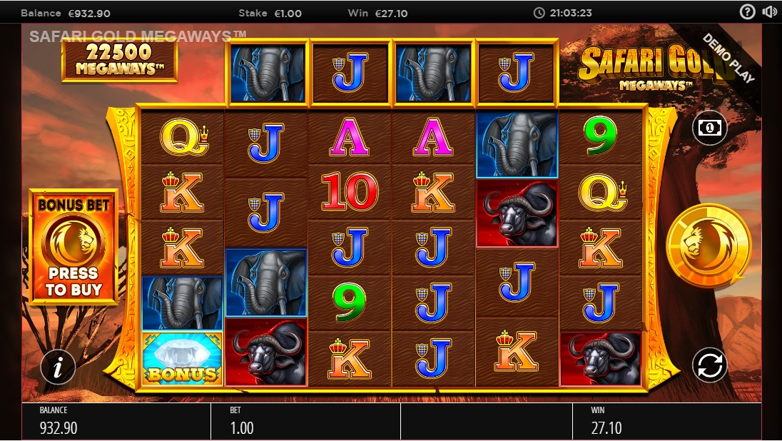 Safari Gold Megaways играть онлайн