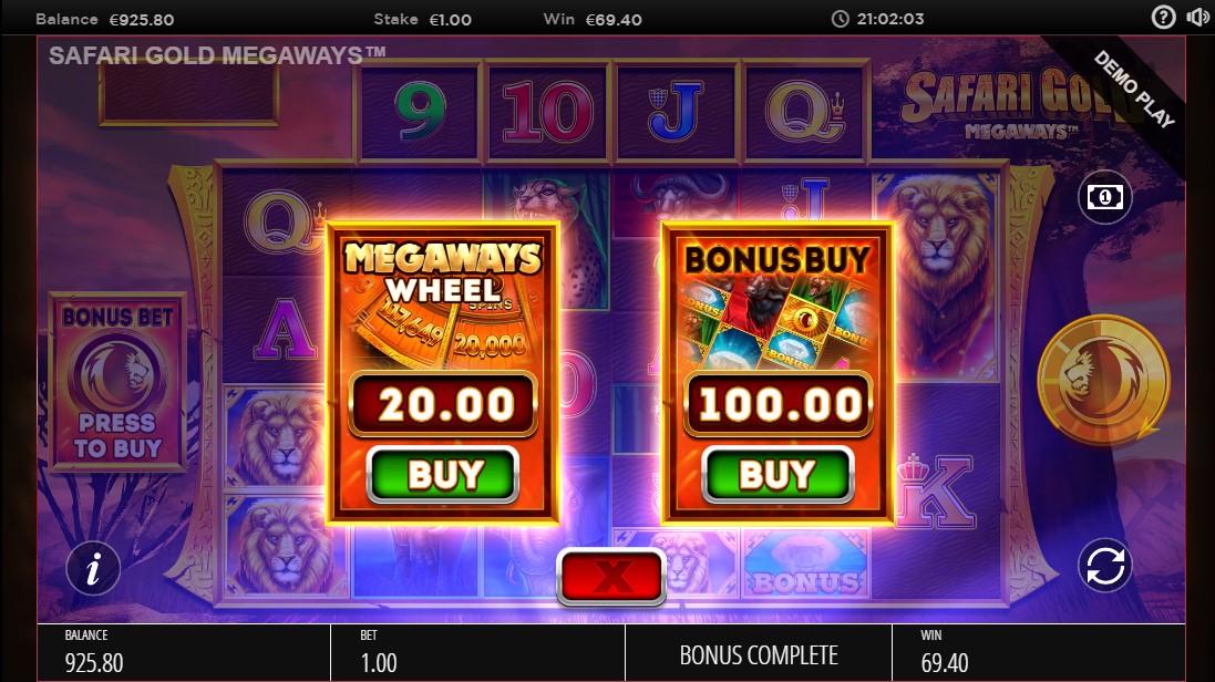 Safari Gold Megaways бесплатный игровой автомат