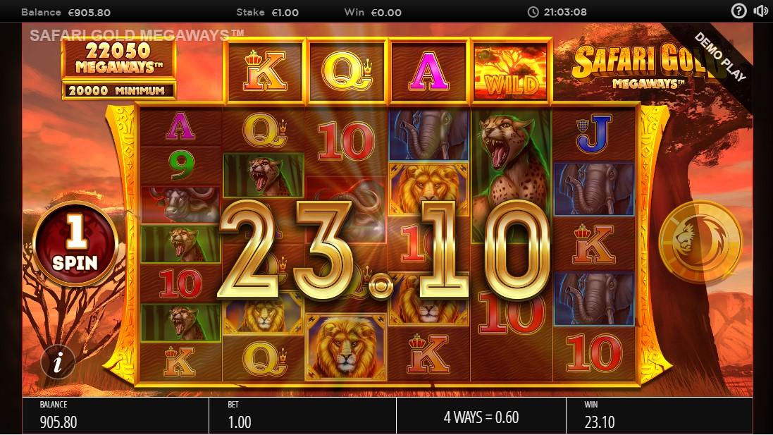 Safari Gold Megaways игровой автомат