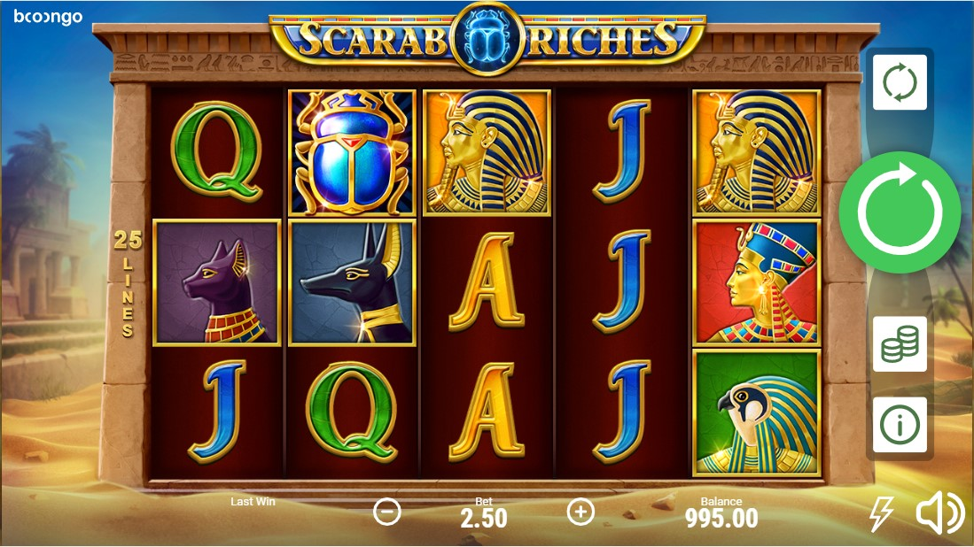 Онлайн слот Scarab Riches