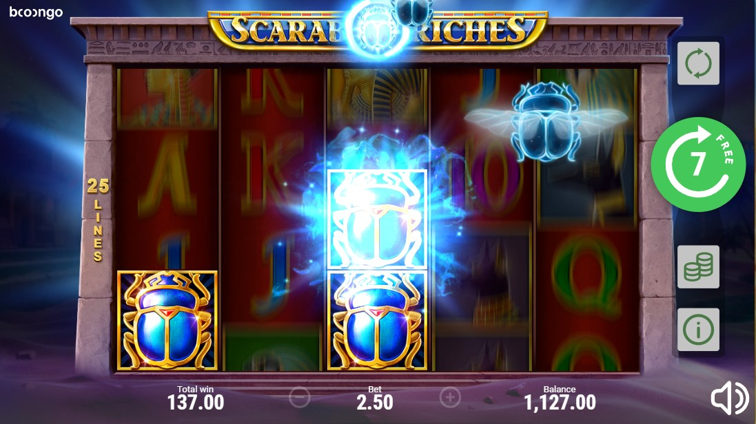 Scarab Riches игровой автомат