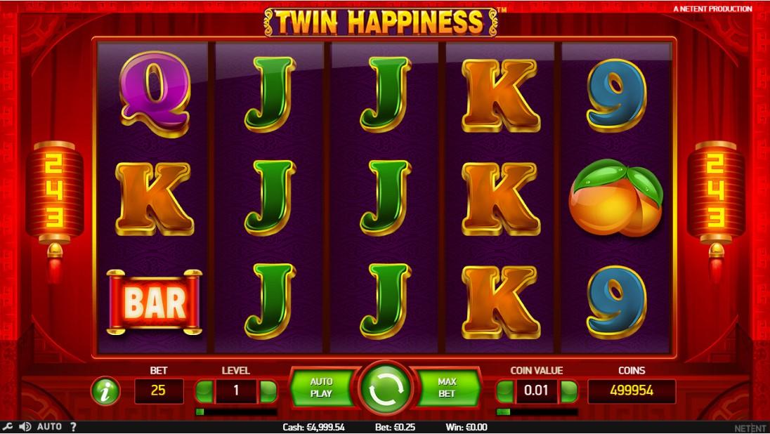 Бесплатный игровой автомат Twin Happiness
