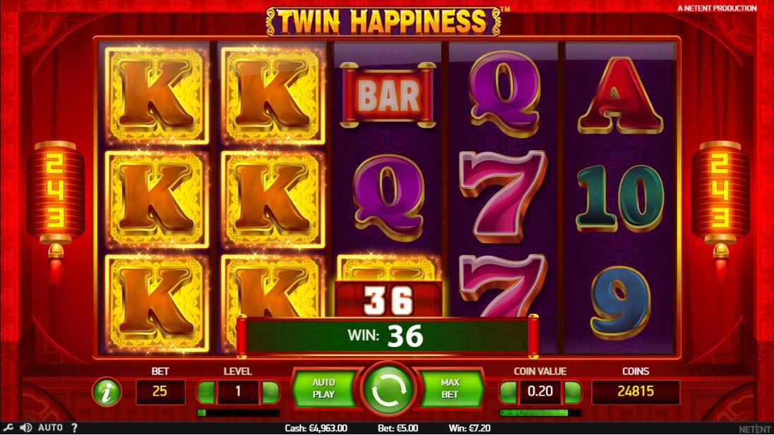Слот Twin Happiness играть