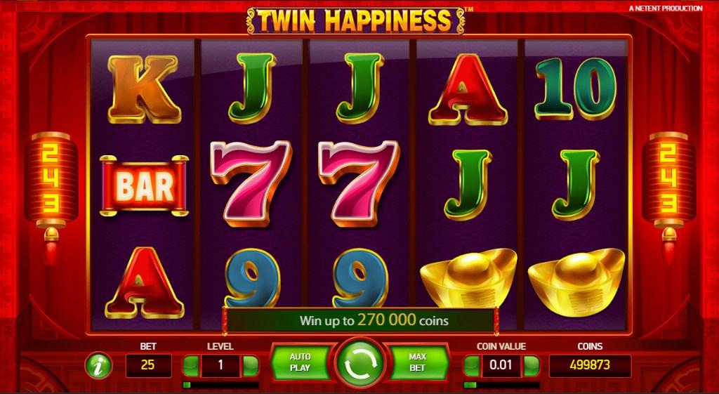 Игры netent выпустила игровой автомат twin happiness разрешены