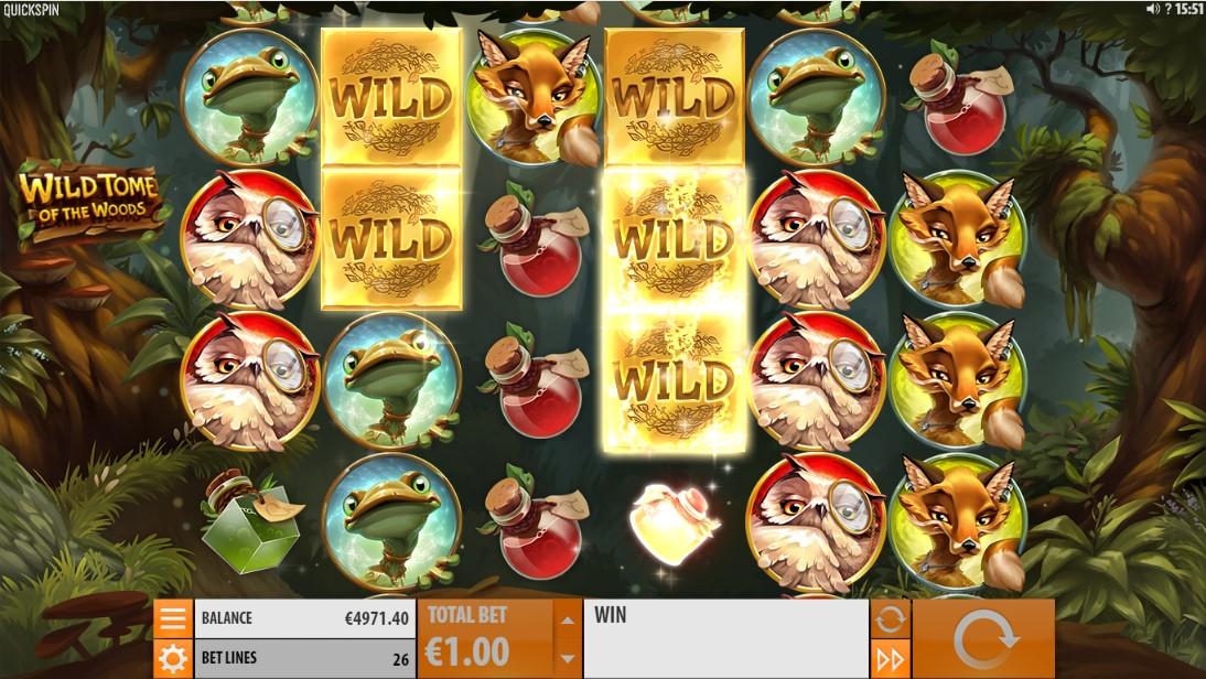 Игровой автомат Wild Tome of the Woods