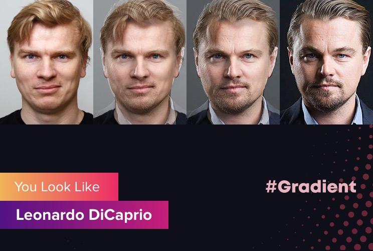 Affgambler Gradient Leonardo DiCaprio