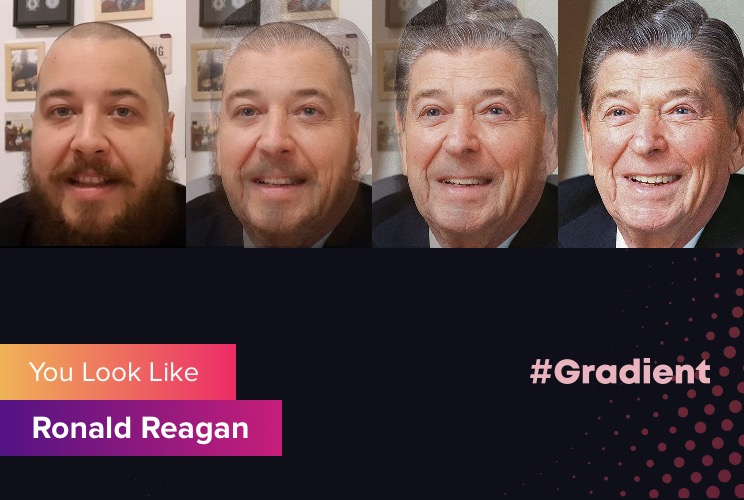Шамиль SlotsHunter Gradient Ronald Reagan