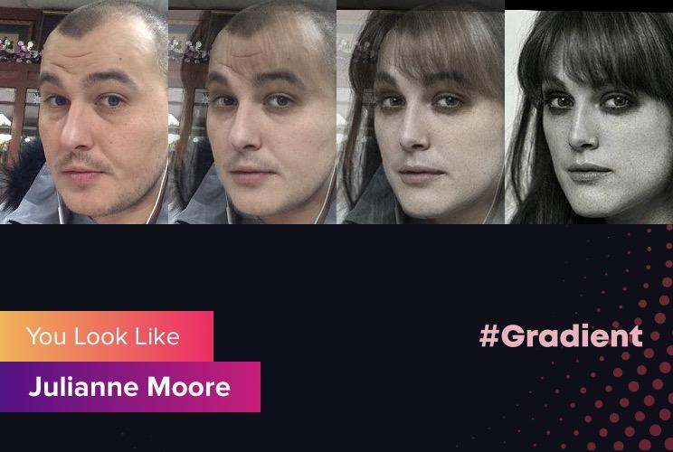 DMC Jordan Gradient Julianne Moore