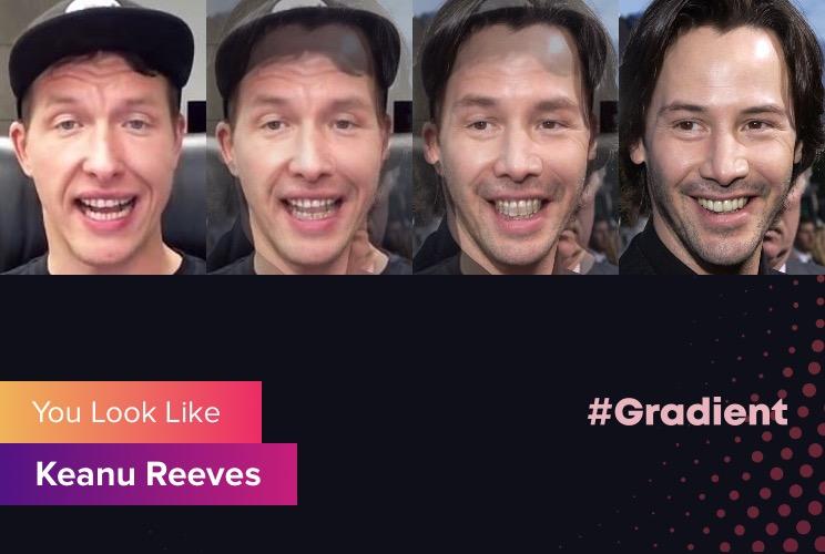 TTR Gradient Keanu Reeves