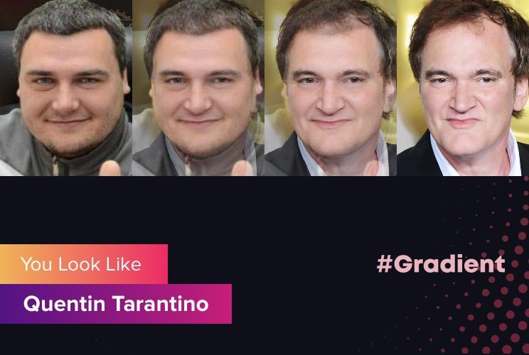 Везунчики Gradient Quentin Tarantino