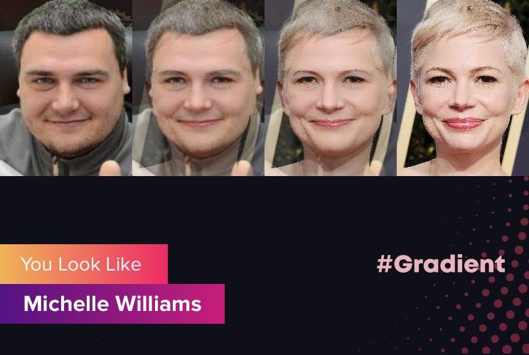 Везунчики Gradient Michelle Williams