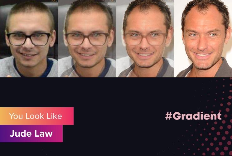 Везунчики Gradient Jude Law