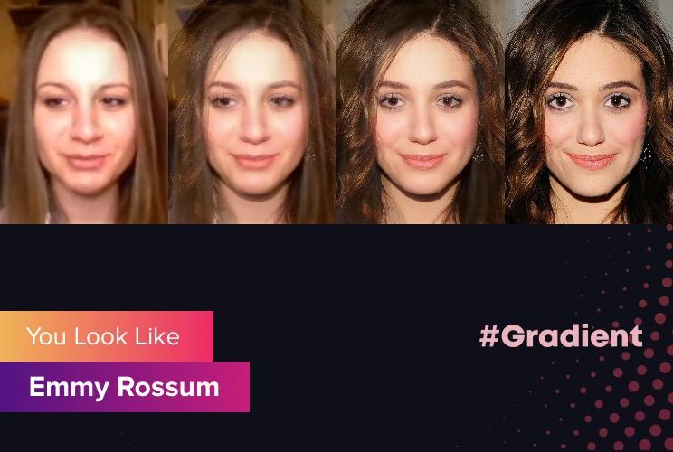 Cherry Rich Gradient Emmy Rossum