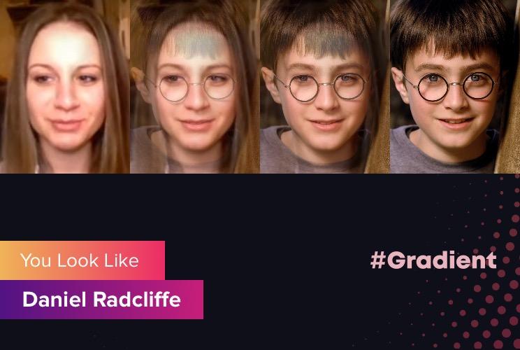 Cherry Rich Gradient Daniel Radcliffe